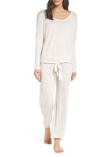 Eberjey Heather Slouchy Pajamas