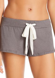 Eberjey Heather Slub Shorts