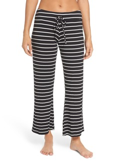 Eberjey 'Lounge Stripes' Wide Leg Lounge Pants