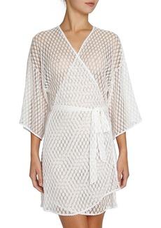 Eberjey Love Always Lace Kimono Robe