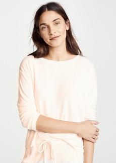 Eberjey Mina Long Sleeve Sweatshirt