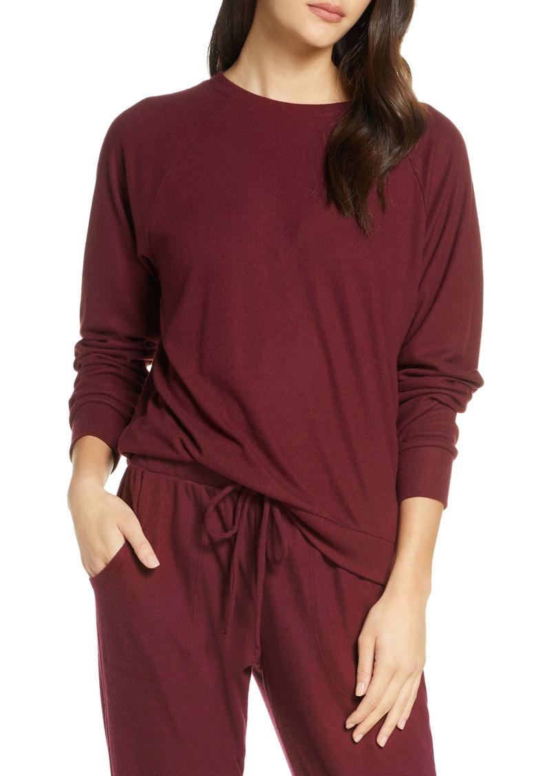 Eberjey Mina The Ringer Sweatshirt