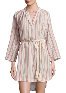 Eberjey Patio Stripes Darwin Cotton Cover-Up