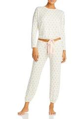 Eberjey Pineapple Print Pajama Set - 100% Exclusive