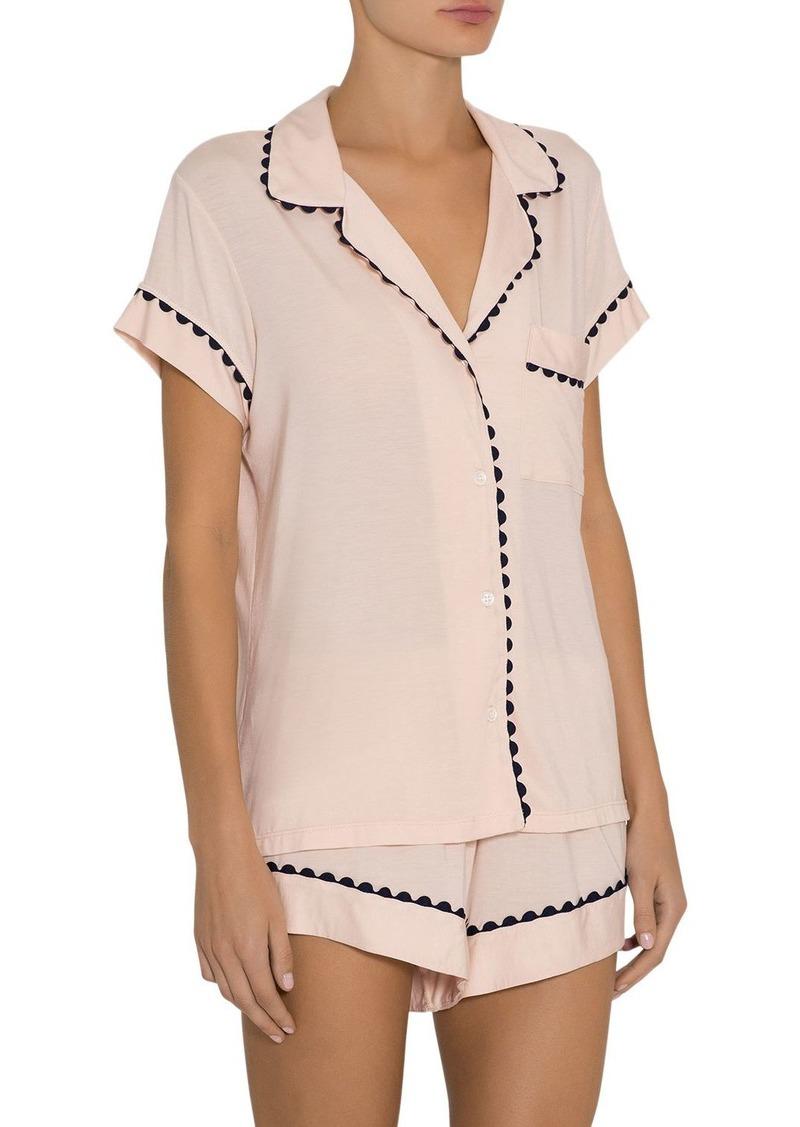 Eberjey Ric Rac Pajama Set