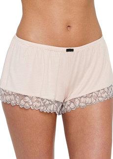 Eberjey Rosario Lace-Trim Lounge Shorts
