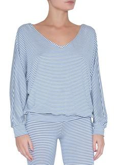 Eberjey Sadie Stripes Dolman-Sleeve Top