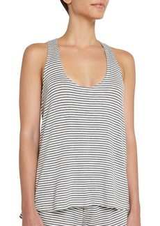 Eberjey Sadie Stripes Racerback Tank Top