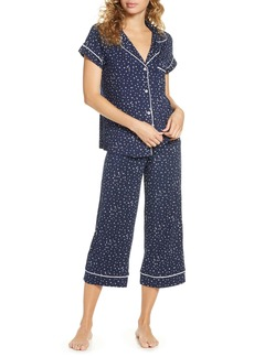 Eberjey Sleep Chic Crop Pajamas