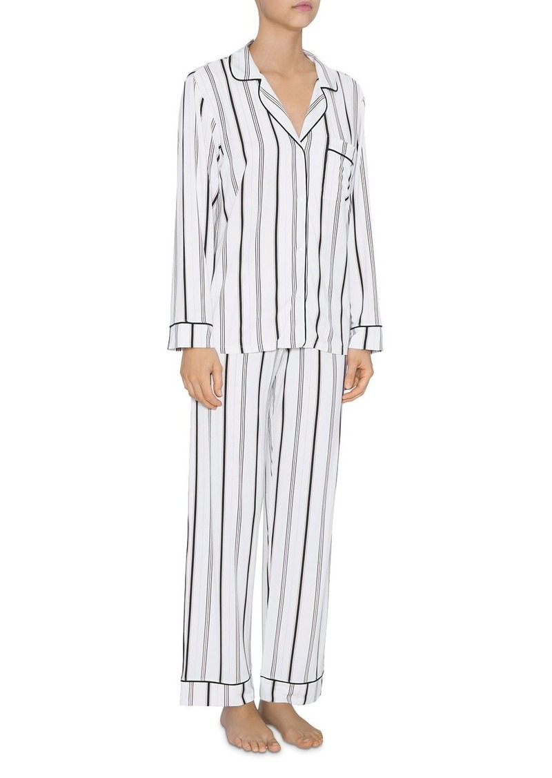 Eberjey Sleep Chic Long Pajama Set