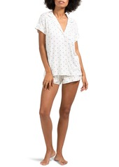 Eberjey Sleep Chic Short Pajamas