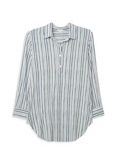 Eberjey Striped Boyfriend Sleep Shirt