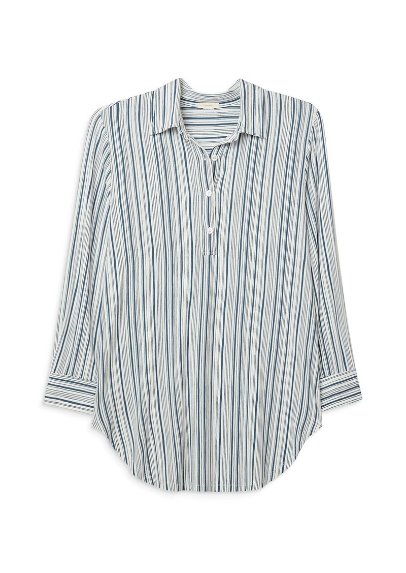 Eberjey Striped Boyfriend Sleep Shirt