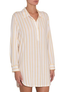 Eberjey Summer Stripes Boyfriend Sleep Shirt