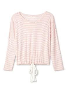 Eberjey The Varsity Sadie Stripes Pullover