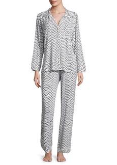 Eberjey Two-Piece Sleep Chic Pajama Set