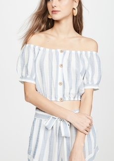 Eberjey Umbrella Stripe Harper Top