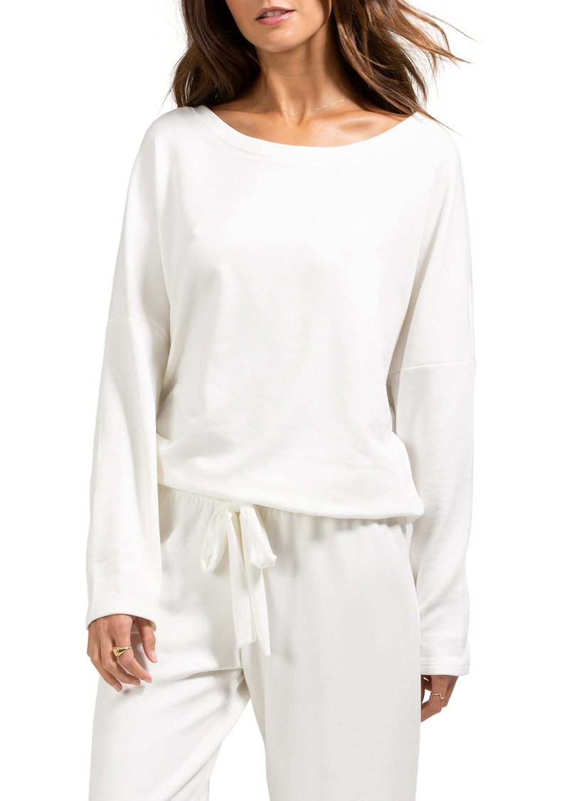 Eberjey Softest Sweats Pajama Top