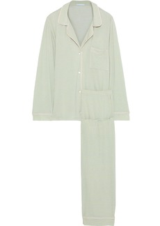 Eberjey Woman Chiquita Printed Jersey Pajama Set Light Green