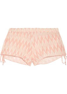 Eberjey Woman Morgan Printed Voile Shorts Blush