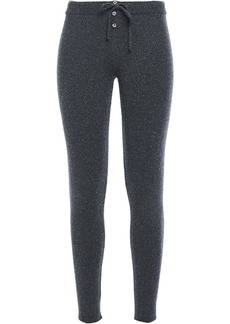 Eberjey Woman Paula The Winter Marled Knitted Leggings Dark Gray