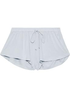 Eberjey Woman Renata Modal-jersey Pajama Shorts Light Gray