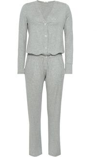 Eberjey Woman Stretch-modal Jersey Jumpsuit Light Gray