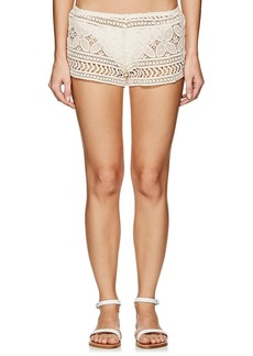 Eberjey Women's Beach Comber Crochet Shorts