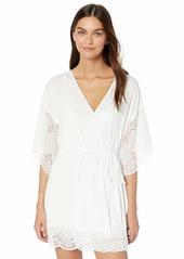 Eberjey Women's Beatrix Full LACE Robe