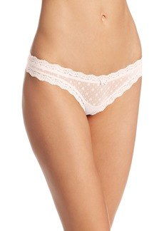 Eberjey Women's Delirious Lace Low Rise Thong  Small/Medium