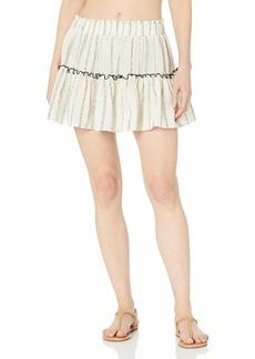 Eberjey Women's Ellie Cover UP Skirt  L