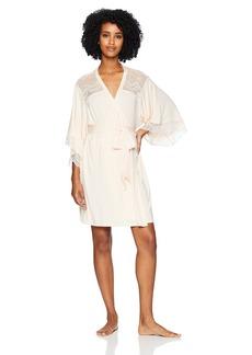 Eberjey Women's Esperanza Inset Kimono Robe