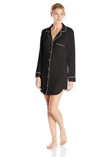 Eberjey Women's Gisele Sleep Shirt Black