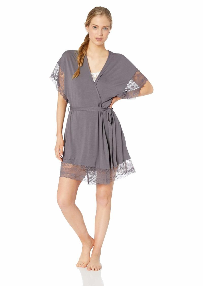 Eberjey Women's Grace Full LACE Robe