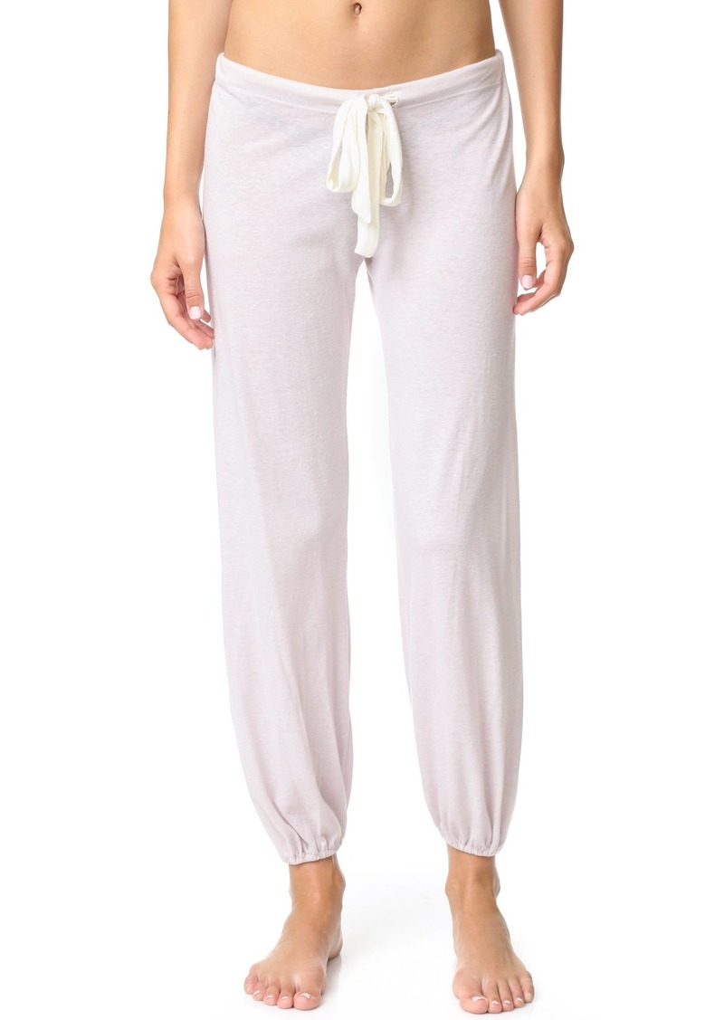 Eberjey womens Heather Cropped Pant Pajama Bottom   US