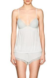 Eberjey Women's Leila Lace-Trimmed Jersey Camisole