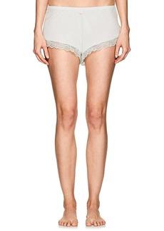 Eberjey Women's Leila Lace-Trimmed Jersey Shorts