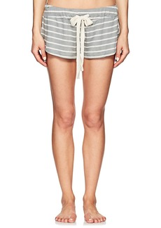 Eberjey Women's Lounge Striped Drawstring Shorts