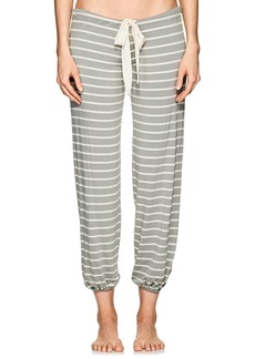 Eberjey Women's Lounge Striped Jersey Drawstring Pants