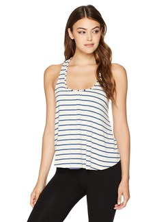 Eberjey Women's Lounge Stripes Racerback Tank