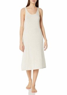 Eberjey Women's MIDI Dress Natural/LINO M