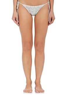 Eberjey Women's Sadie Geometric-Print String Bikini Bottom