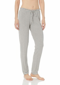 Eberjey Women's Sadie Stripes The Drawst Slim Pant