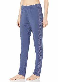 Eberjey Women's Simona Overlay Slim Pant
