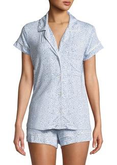 Eberjey Fleur De Vie Short Pajama Set