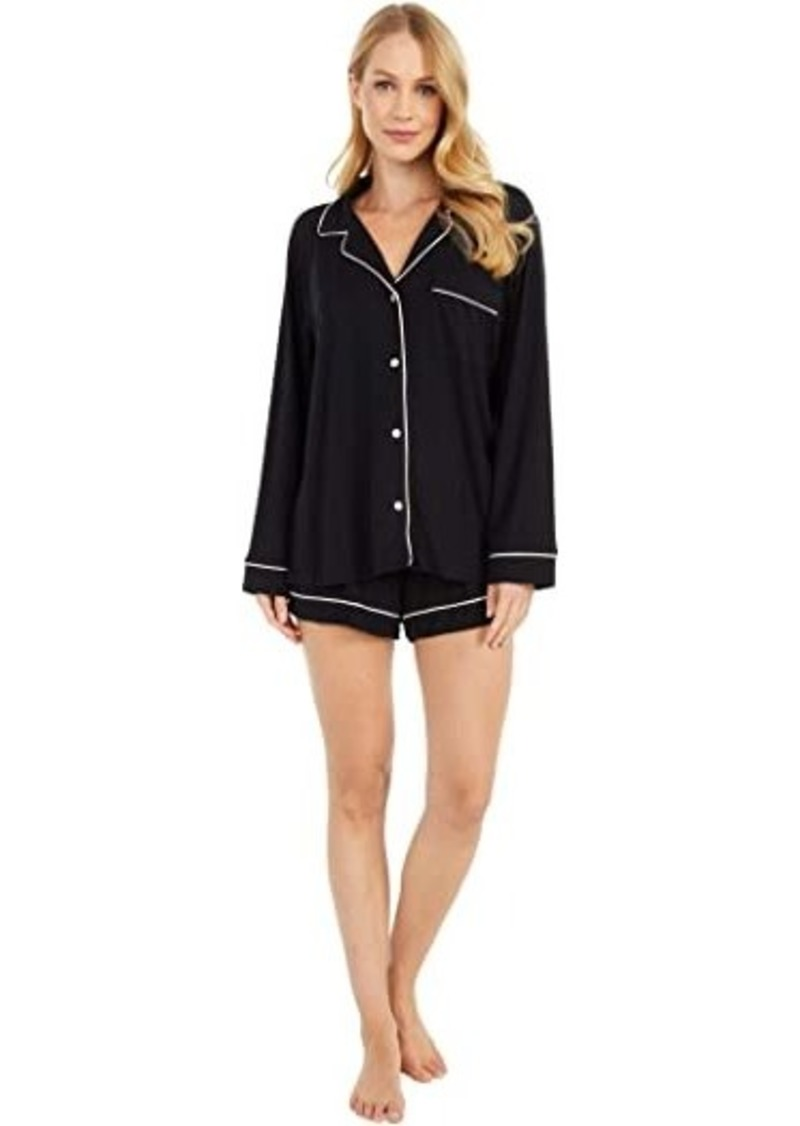 Eberjey Gisele - Long Sleeve Short and PJ Set
