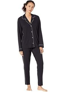 Eberjey Gisele Slim Tuxedo Pajama Set