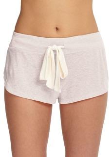 Eberjey Heather Drawstring Shorts