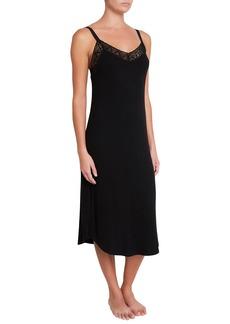 Eberjey Kaia Lace-Trim Nightgown