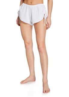 Eberjey Lucia High-Rise Mini Shorts